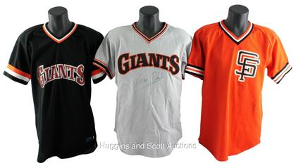 online store bbbb0 7ecf7 3) 1980s San Francisco Giants Game-Worn Batting Practice ...